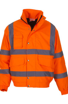 Fluo Bomber Jacket von der Marke Yoko in Fluo Orange