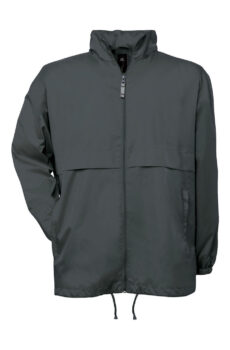 Air Windbreaker von der Marke B & C in Dark Grey