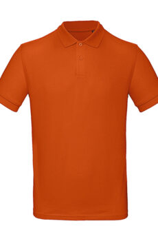 Inspire Polo /men von der Marke B & C in Urban Orange