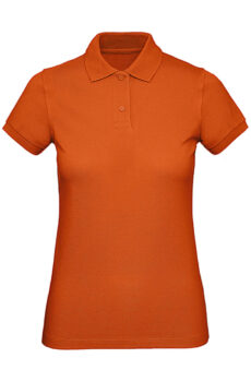 Inspire Polo /women von der Marke B & C in Urban Orange