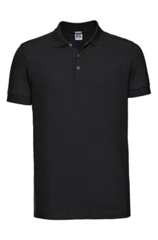 Herren Fitted Stretch Polo  •  Russell Europe
