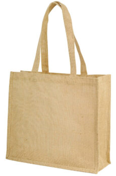 Calcutta Long Handled Jute Shopper Bag  •  Shugon