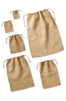 Jute Stuff Bag  •  Westford Mill