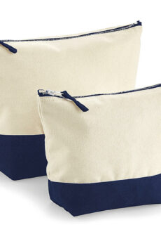 Dipped Base Canvas Accessory Bag  •  Westford Mill