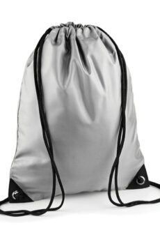 Premium Gymsac von der Marke Bag Base in Silver