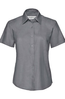 Ladies` Classic Oxford Shirt von der Marke Russell Europe in Silver