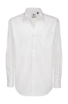 Sharp LSL/men Twill Shirt  •  B & C