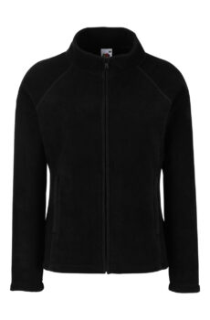 Damen Full Zip Fleece  •  Fruit of the Loom