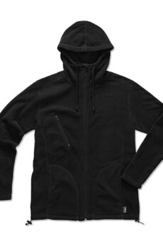 Active Hooded Fleece Jacke  •  Stedman