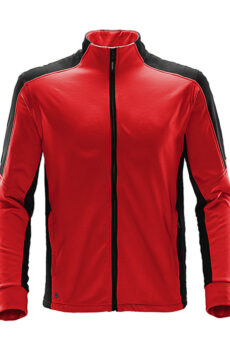 Chakra Fleece Jacket von der Marke StormTech in Bright Red/Black