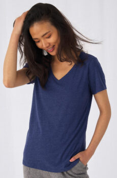 V Triblend/Damen T-Shirt