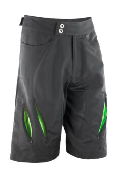 Spiro Bikewear Off Road Shorts von der Marke Result in Black/Lime