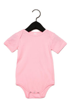 Baby Jersey Short Sleeve One Piece von der Marke Bella in Pink