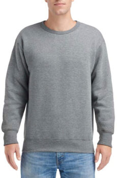 Hammer™ Adult Crew Sweatshirt von der Marke Gildan in Graphite Heather