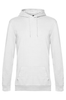 #Hoodie French Terry von der Marke B & C in White