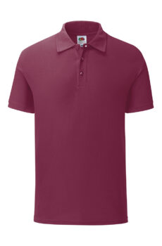 65/35 Tailored Fit Polo von der Marke Fruit of the Loom in Burgundy