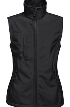 Women`s Octagon II Printable Bodywarmer von der Marke Regatta in Black/Black