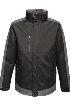 Contrast Insulated Jacket von der Marke Regatta in Black/Seal Grey