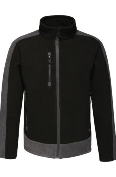 Contrast 300G Fleece von der Marke Regatta in Black/Seal Grey