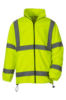 Fluo Fleece Jacket von der Marke Yoko in Fluo Yellow