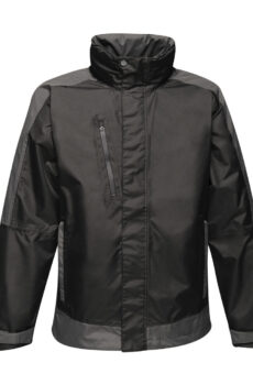 Contrast Shell Jacket von der Marke Regatta in Black/Seal Grey