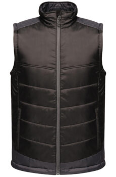 Contrast Insulated Bodywarmer von der Marke Regatta in Black/Seal Grey