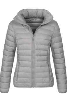 Padded Jacket Women von der Marke Stedman in Light Grey