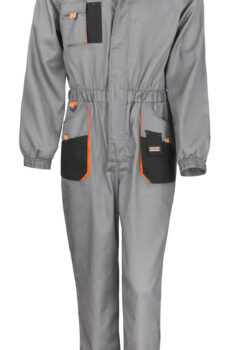 LITE Coverall von der Marke Result in Grey/Black/Orange