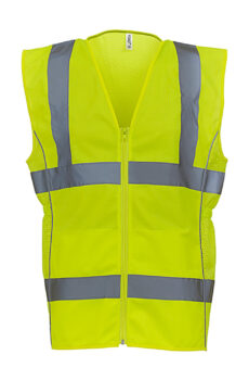 Fluo Ladies Executive Waistcoat von der Marke Yoko in Fluo Yellow