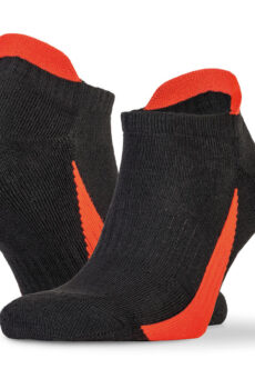 3-Pack Sneaker Socks von der Marke Result in Black/Red