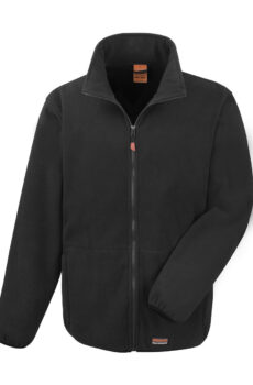 Heavy Duty Microfleece von der Marke Result in Black
